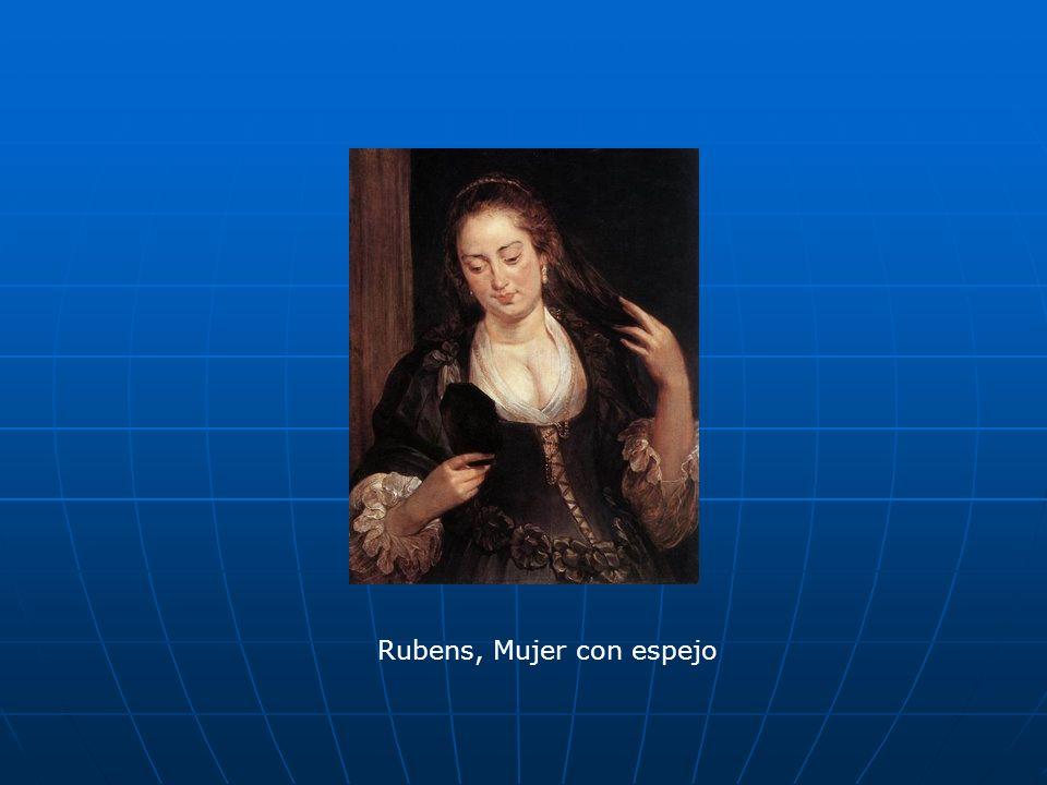 Rubens, Mujer con espejo