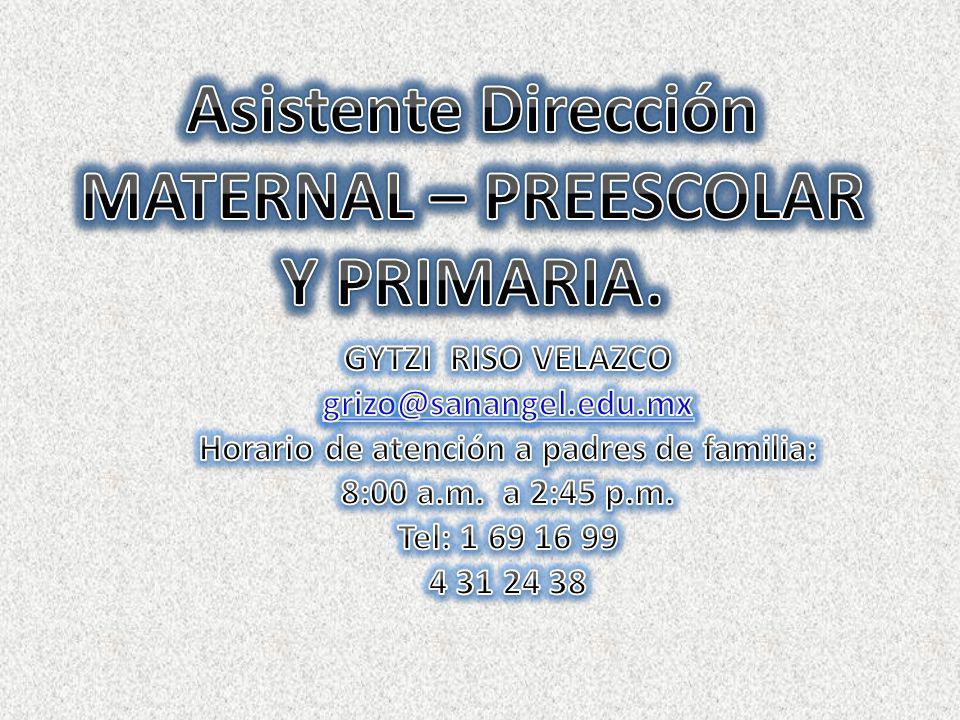 CP.YAMELI ALESSA TORIZ SUAREZ contabilidad@sanangel.edu.mx Auxiliar y Facturación: Lic.