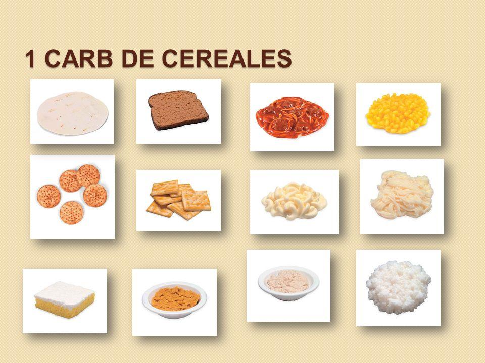 1 CARB DE CEREALES