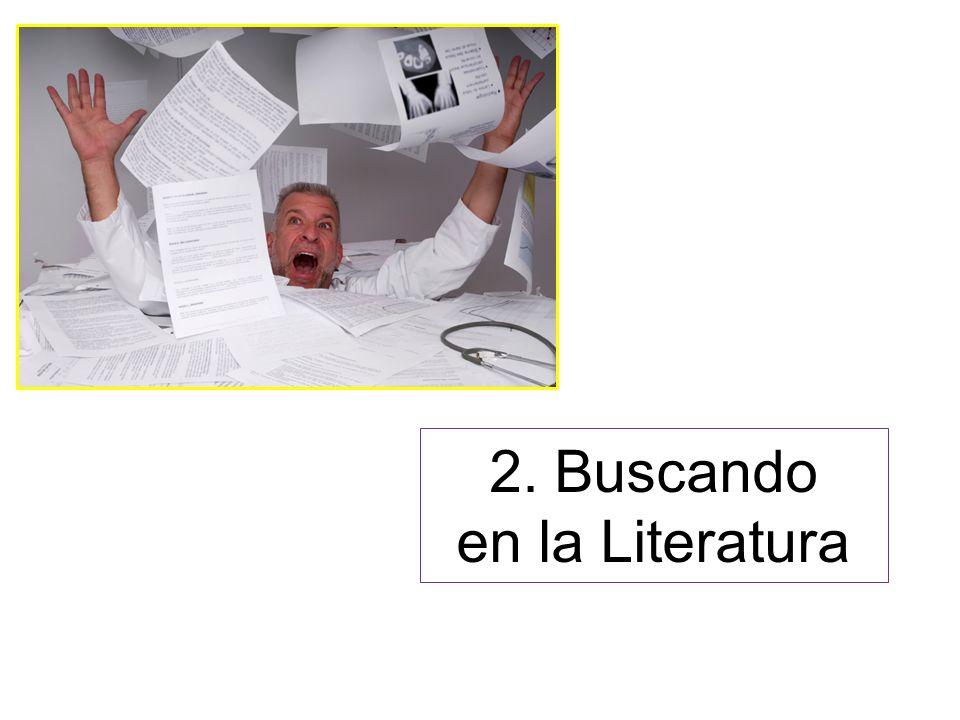 2. Buscando en la Literatura