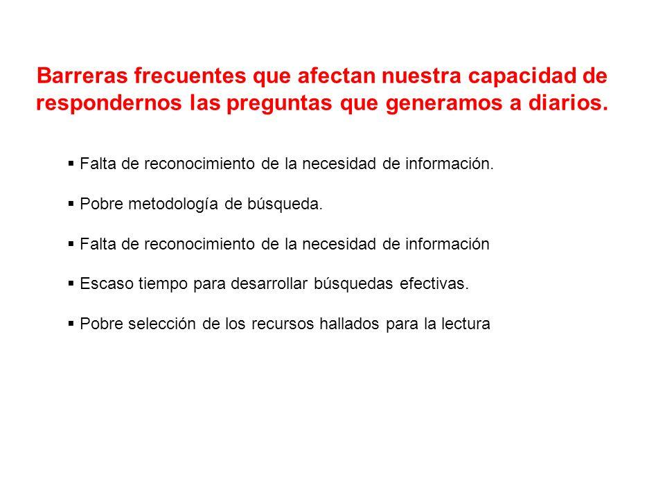 La información médica Para ser útil, debe tener 3 características que se relacionan de la siguiente forma: Utilidad de la información médica Validez x relevancia Esfuerzo