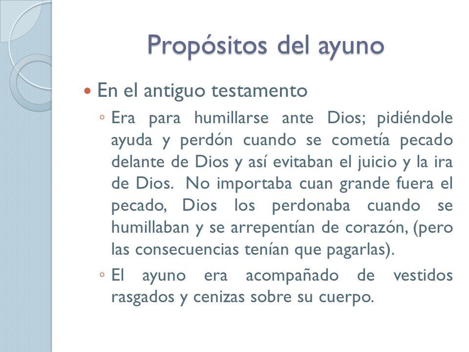 En el Nuevo Testamento Jesús lo instituyó como una necesidad para la preparación y fortaleza espiritual del Cristiano.