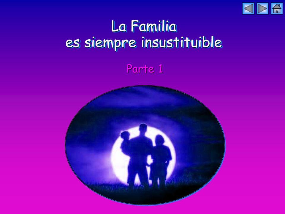 La Familia es siempre insustituible La Familia es siempre insustituible Parte 1