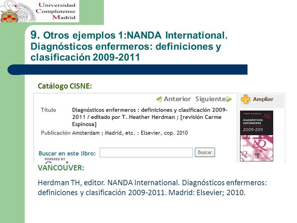 9.Otros ejemplos 1:NANDA International.