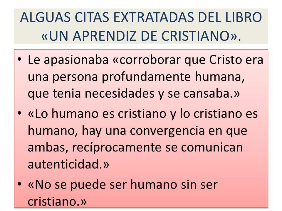 HUMANISMO LA GRACIA PRESUPONE LA HUMANIDAD.(Santo Tomás) JESUS ME PRESUPONE A MI.