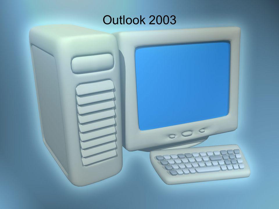 Create New Items En Outlook se pueden crear diferentes items: message, appointment, contact entry, task, note, etc… Para crear un mensaje se presiona en el toolbar el botón New.