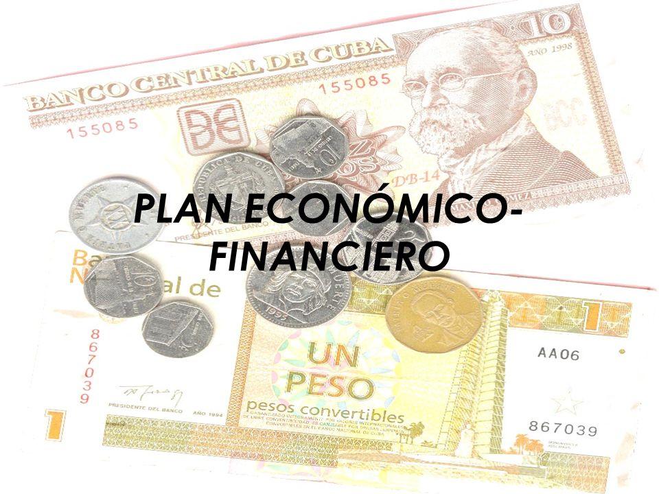 PLAN ECONÓMICO- FINANCIERO