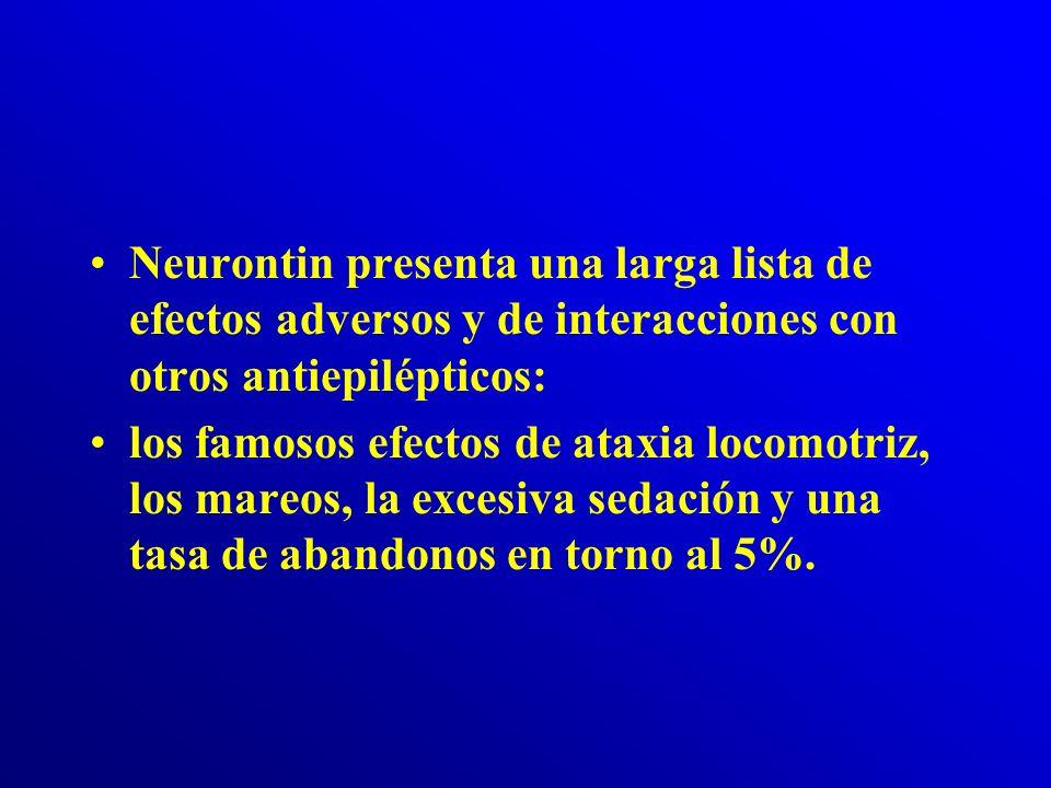 Efectos secundarios de la Gabapentina de riesgo Si el paciente presenta alguno de los siguientes síntomas, –sarpullido (erupciones en la piel) –prurit