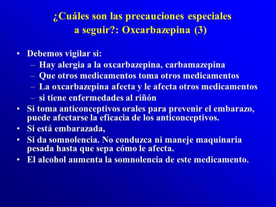 Oxcarbazepina (2) ¿Cómo se debe usar este medicamento? La oxcarbazepina viene en tabletas (vía oral). Suele tomarse en dos veces al día. La oxcarbazep