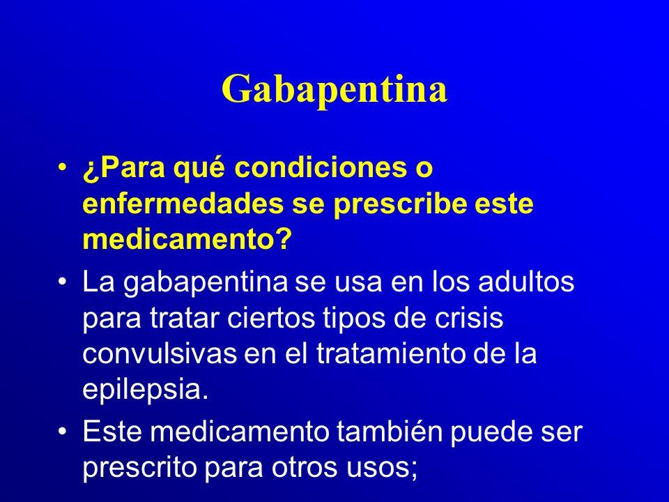 Carbamazepina: Clínica de sobredosis Entre ellos se encuentran: –Pérdida de la conciencia, crisis convulsivas –Agitación, contracciones musculares, ma