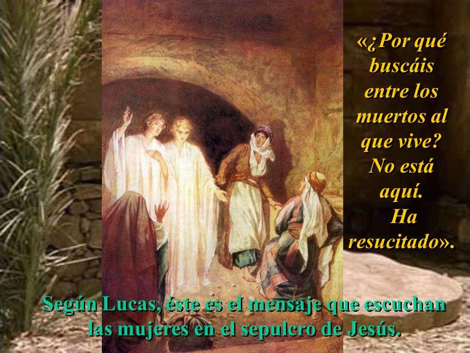 8 de abril de 2007Domingo de Resurrección – Vigilia (C) Lucas 24, 1 – 12 José Antonio Pagola Red evangelizadora Buenas Noticias Anuncia a un Jesús que
