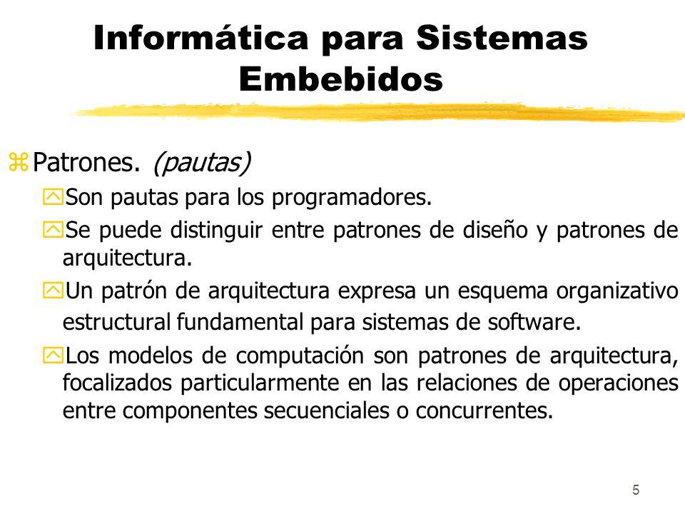 6 Informática para Sistemas Embebidos zEstructuras.