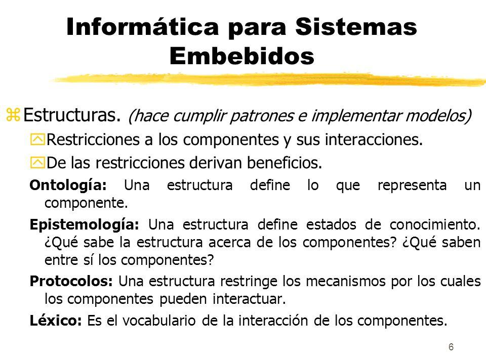 7 zLenguajes de descripción de arquitectura (ADLs) yCiertos ADLs definen a los modelo de computación, describen su práctica actual.
