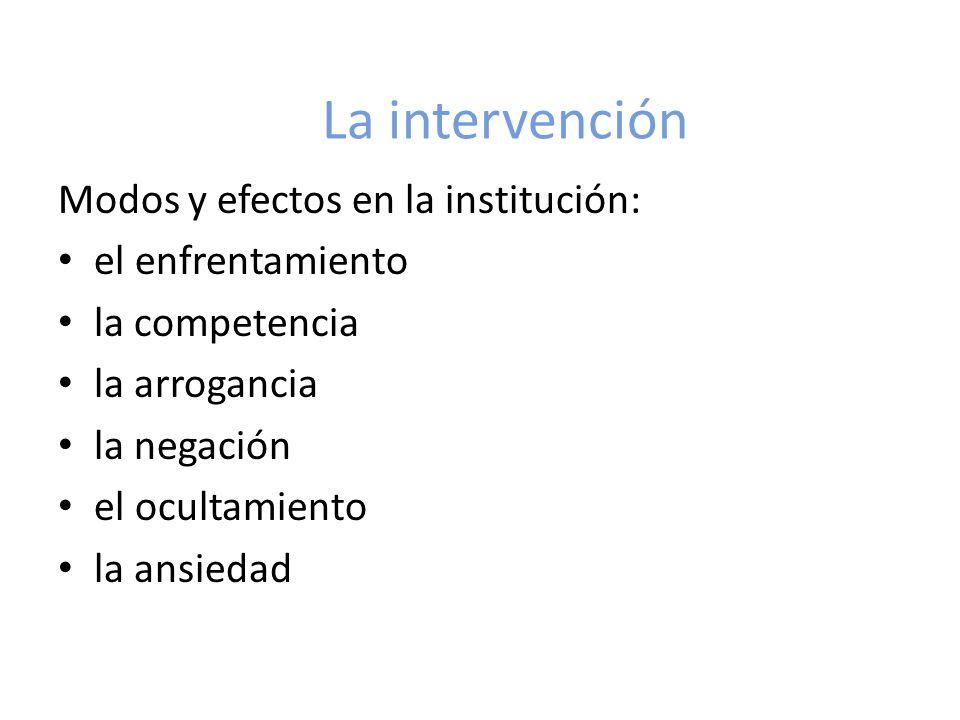La intervención y su intención: persuasión concesión contención colaboración otras Ejemplos de situaciones que requieren que el inspector desarrolle intervenciones de… (trabajo en subgrupos)