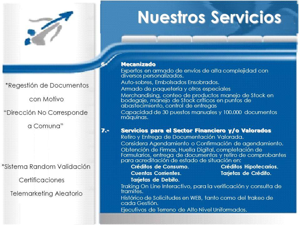 8.-Distribución con Cobertura Nacional Optimización de Entrega por medio de Normalización, limpieza y Poblamiento en Base de Datos.