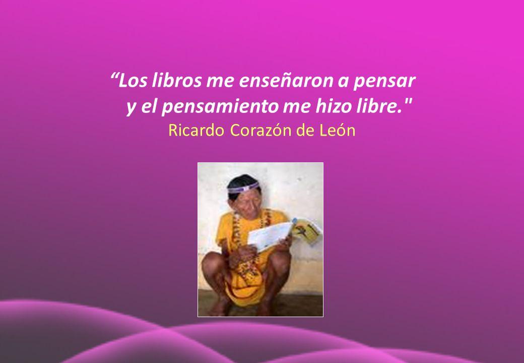 Los libros me enseñaron a pensar y el pensamiento me hizo libre.