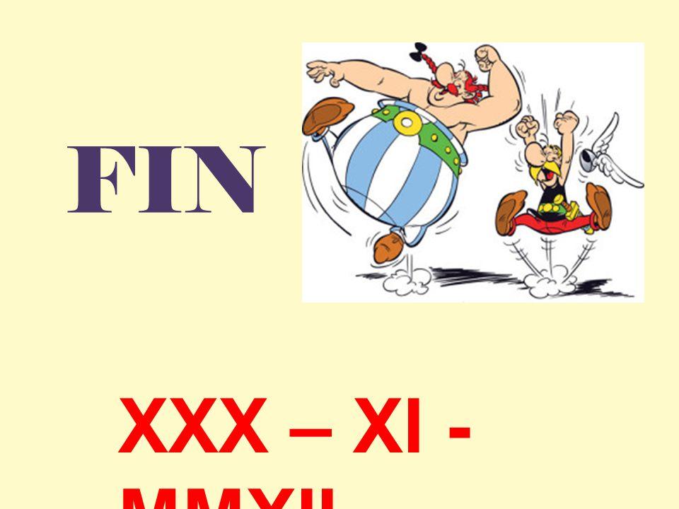 FIN XXX – XI - MMXII