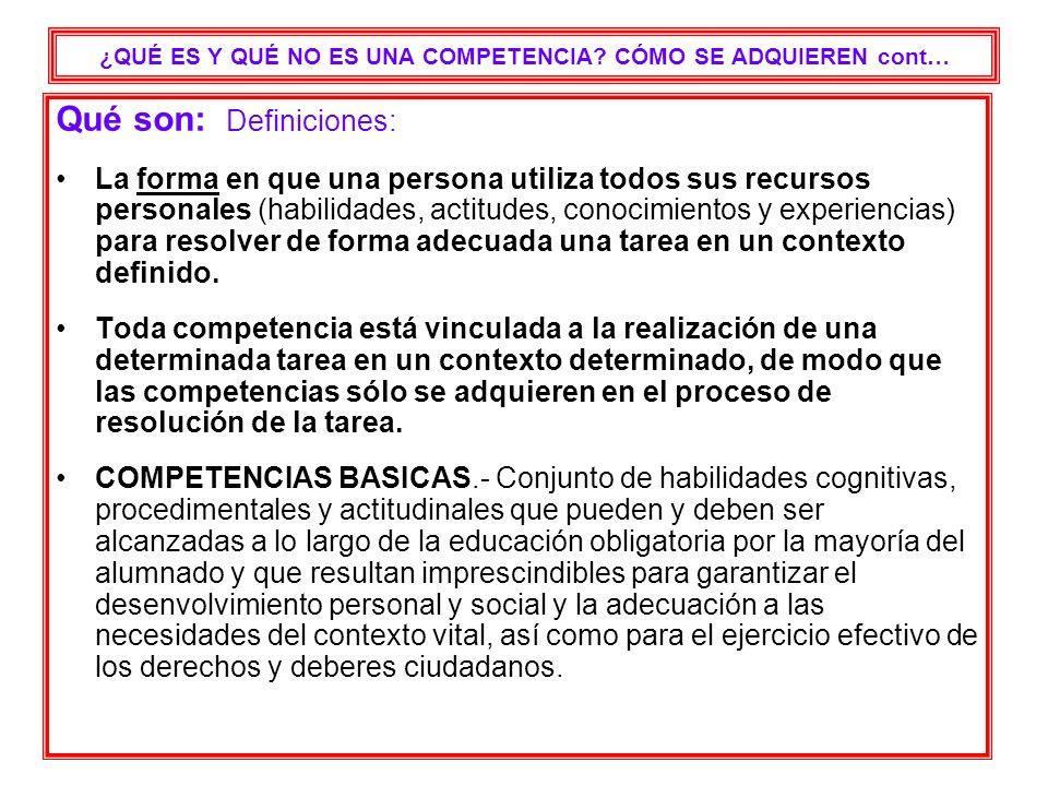 PASOS DEL PROCESO planificación APRENDIZAJES BÁSICOSAPRENDIZAJES BÁSICOS, consensuados por el centro.