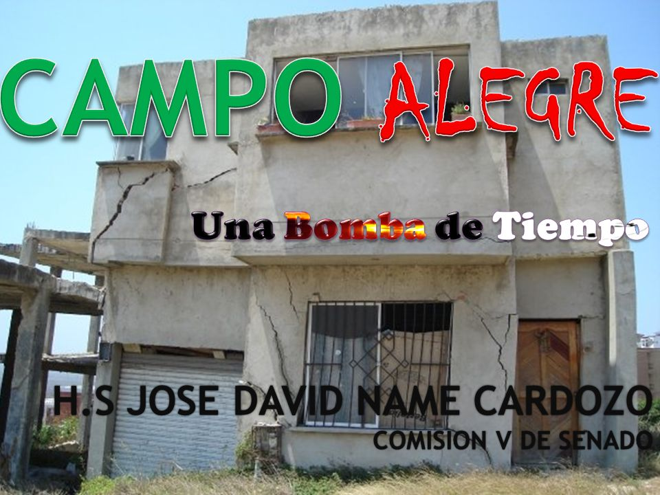 H.S JOSE DAVID NAME CARDOZOH.S JOSE DAVID NAME CARDOZO COMISION V DE SENADOCOMISION V DE SENADO