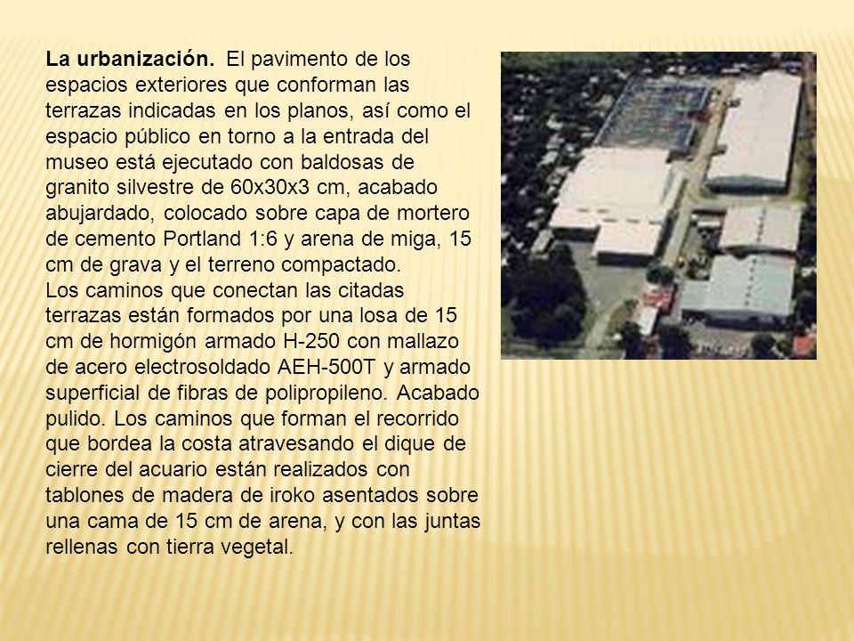 La urbanización.
