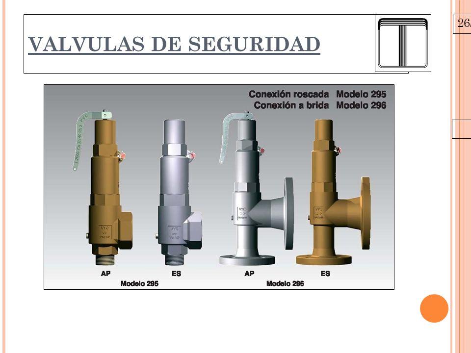 26/10/09 VALVULAS DE SEGURIDAD