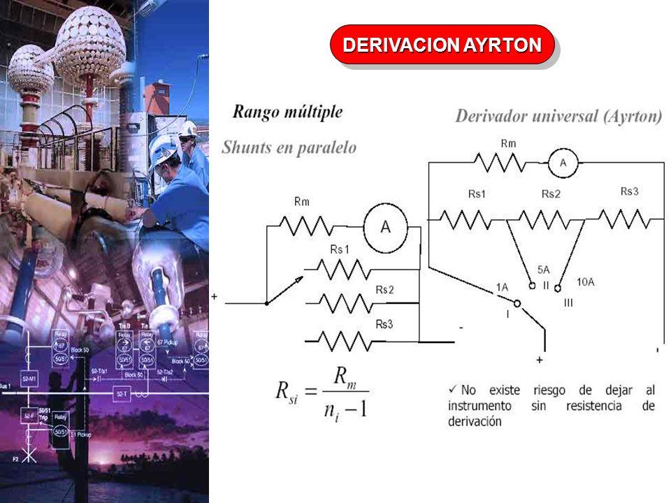 DERIVACION AYRTON