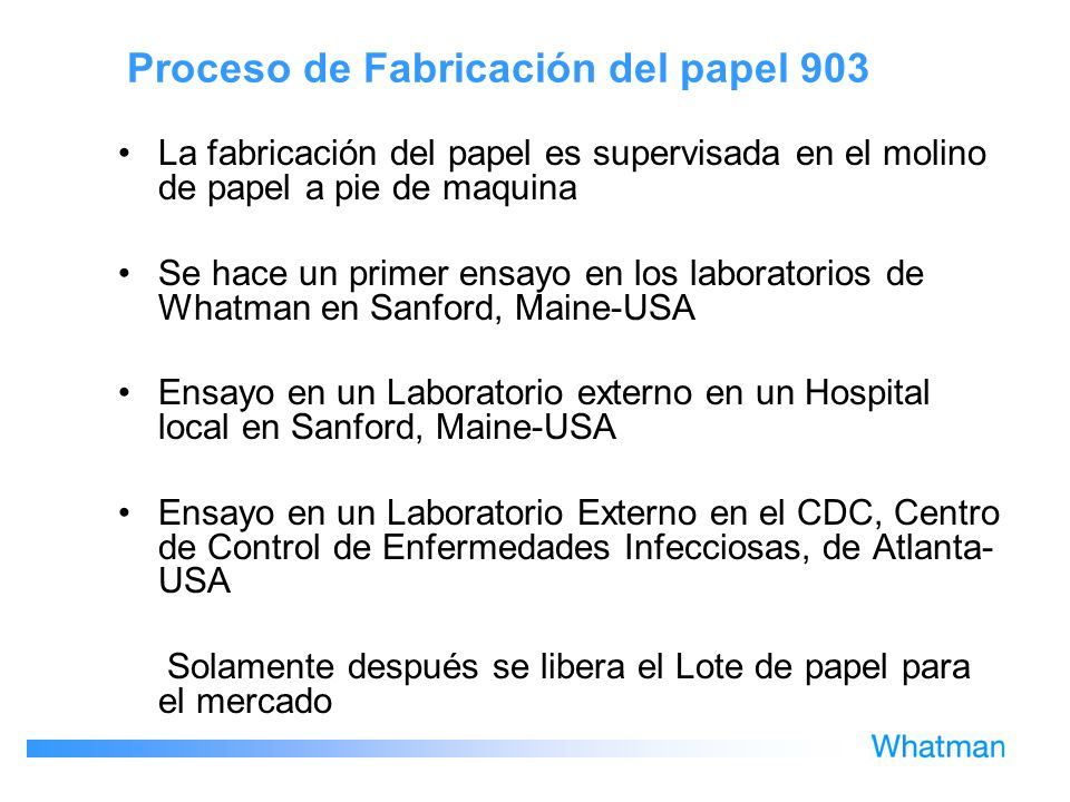 Proceso de Fabricación del papel 903 La fabricación del papel es supervisada en el molino de papel a pie de maquina Se hace un primer ensayo en los la