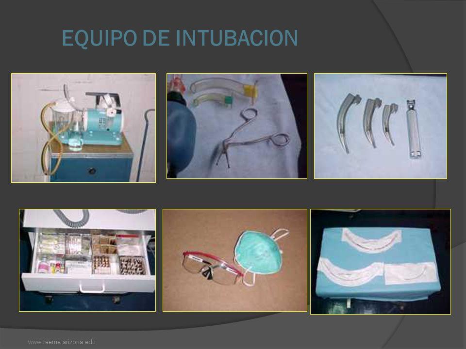 EQUIPO DE INTUBACION www.reeme.arizona.edu