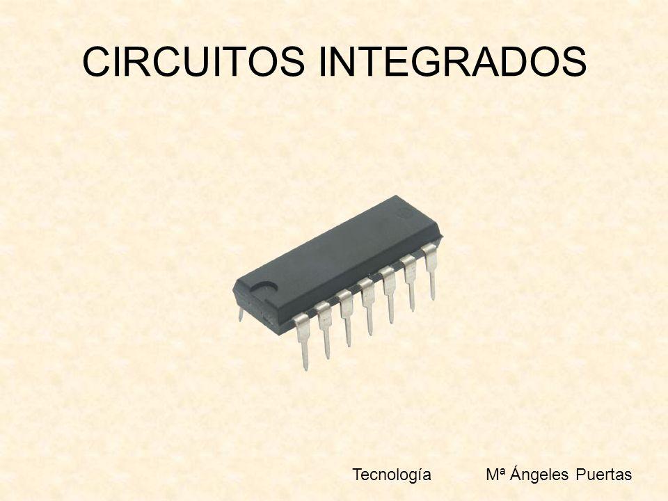 CIRCUITOS INTEGRADOS TecnologíaMª Ángeles Puertas