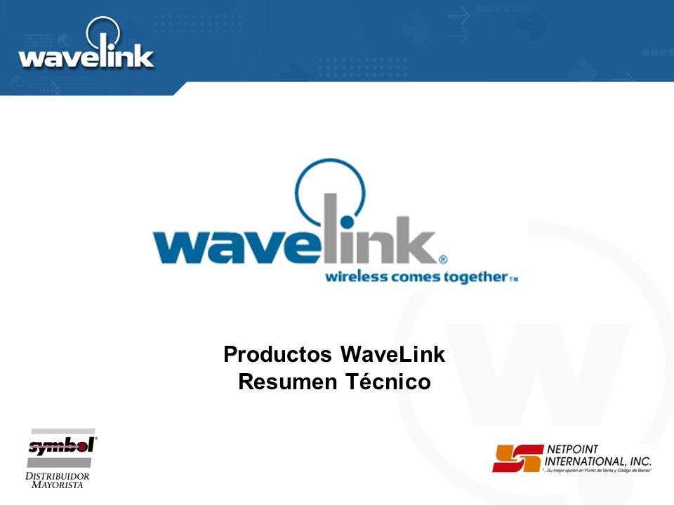 Productos WaveLink Resumen Técnico
