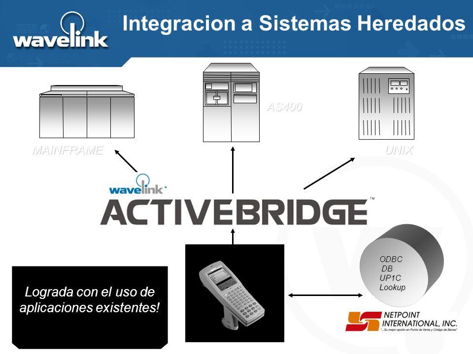 El utilización de WaveLink Activebridge, complemento de WaveLink Studio, permite la conexión directa de los Host con la arquitectura WaveLink. Esto si