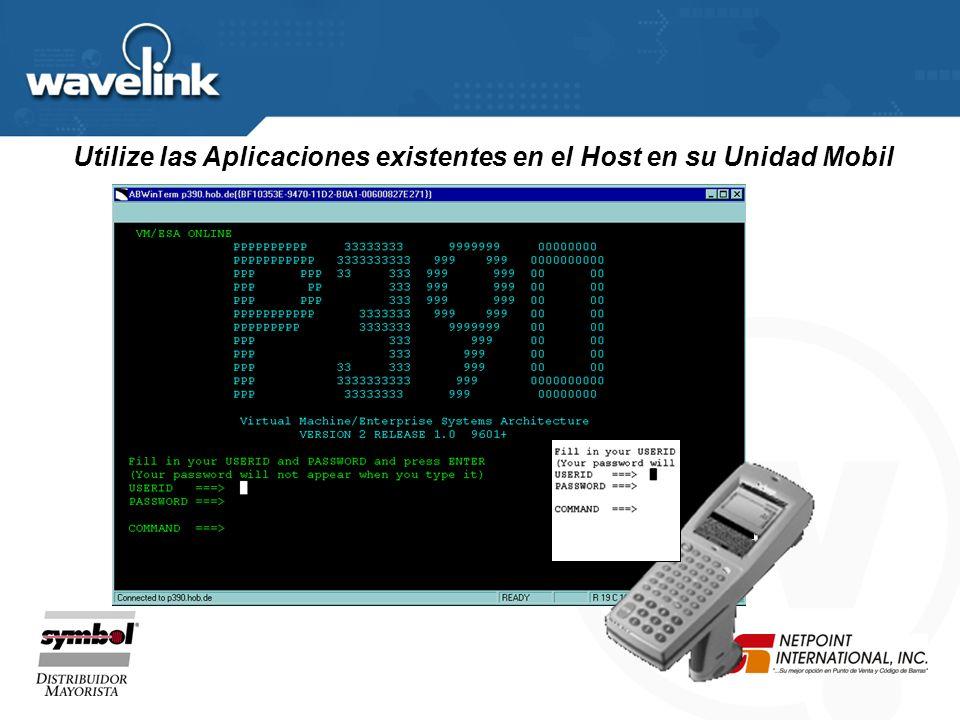 Lograda con el uso de aplicaciones existentes! ODBC DB DBUP1CLookup UNIX AS400 MAINFRAME Integracion a Sistemas Heredados