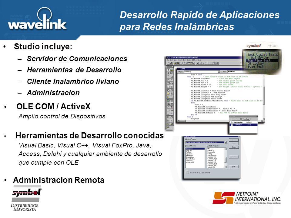 El utilización de WaveLink Activebridge, complemento de WaveLink Studio, permite la conexión directa de los Host con la arquitectura WaveLink.