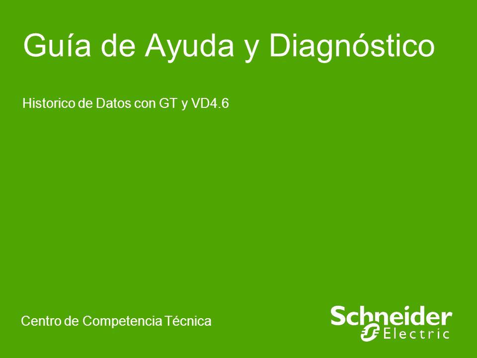 Guía de Ayuda y Diagnóstico Historico de Datos con GT y VD4.6 Centro de Competencia Técnica