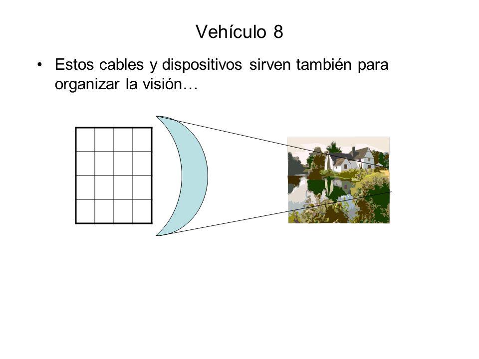 Vehículo 8 Estos cables y dispositivos sirven también para organizar la visión…