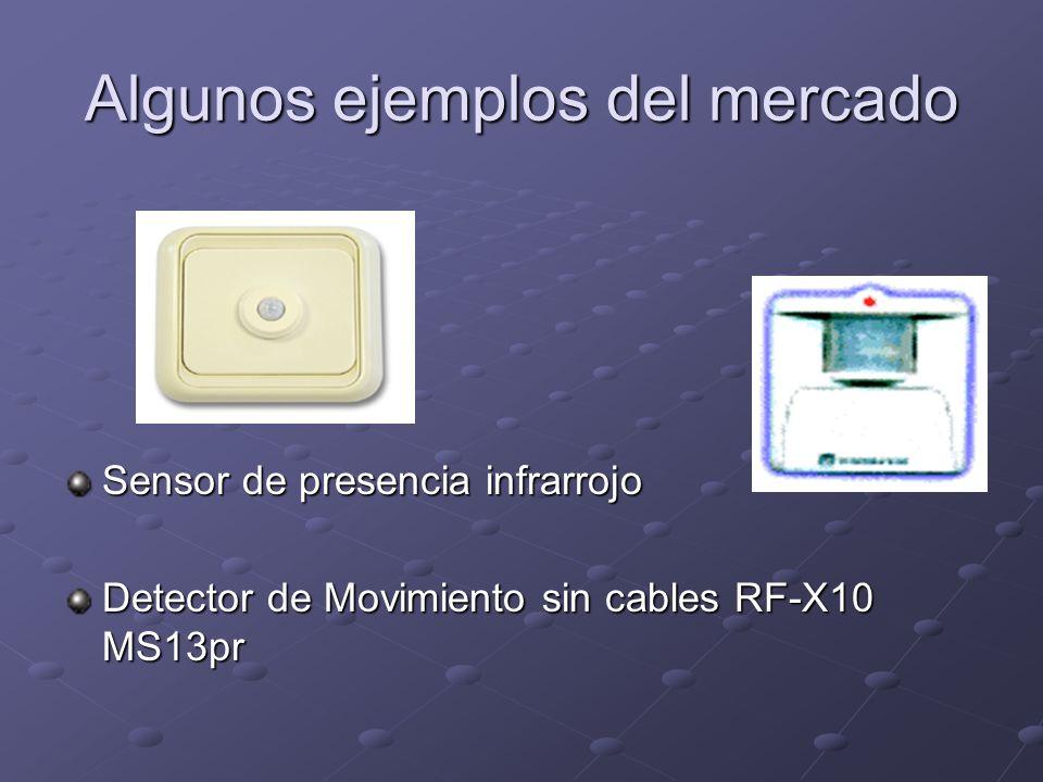 Algunos ejemplos del mercado Sensor de presencia infrarrojo Detector de Movimiento sin cables RF-X10 MS13pr