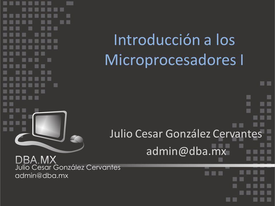 El nacimiento del microprocesador Las primeras compañias que empezaron a desarrollar microprocesadores fueron INTEL y Texas Instrument en el año 1971.