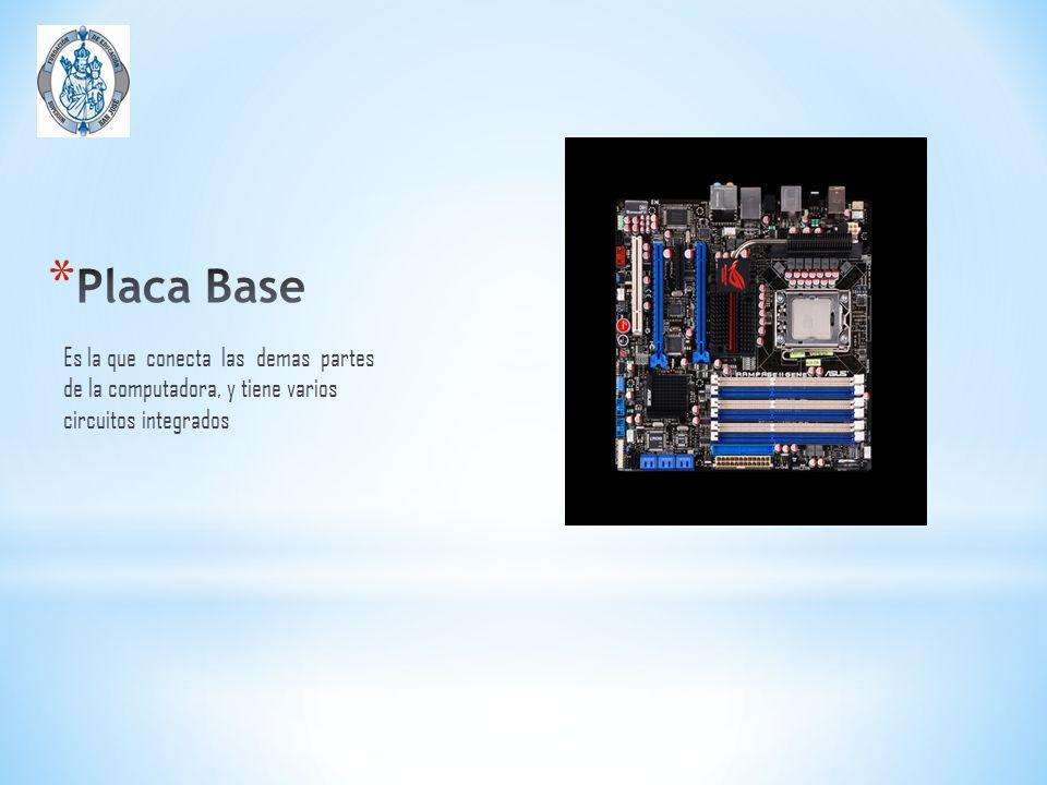* PROCESADOR : es un circuito integrado que incorpora en su interior una unidad central de proceso (CPU) y todo un conjunto de elementos lógicos que permiten enlazar otros dispositivos como memorias y puertos de entrada y salida * Controlador de Memoria: Es Un chip en la placa madre o circuito de la CPU de la computadora que controla los flujo de datos