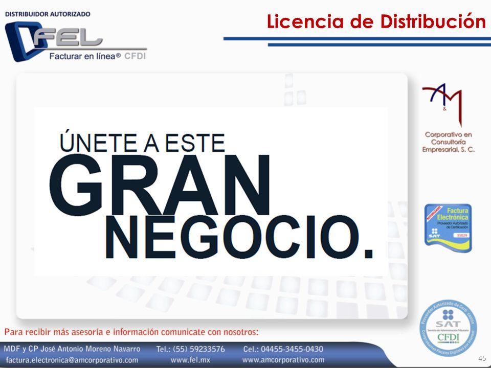 Licencia de Distribución 45
