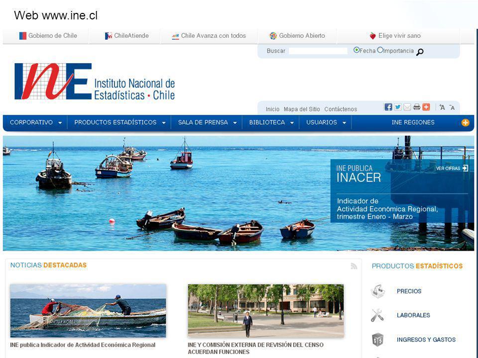 BITÁCORA 4 Adaptación para Teléfonos Móviles y Tablet Web www.ine.cl
