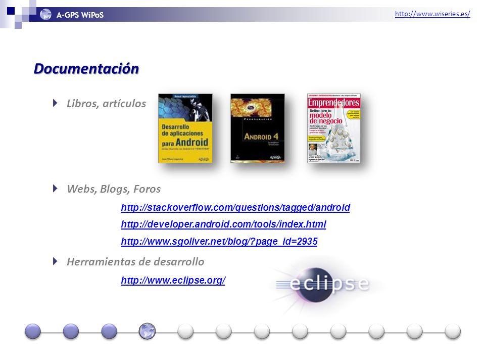 http://www.wiseries.es/ A-GPS WiPoS Diseño Usabilidad Estética Funcionalidad Amigos Familia Trabajo