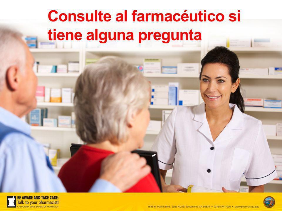Usted tiene derecho a consultar y recibir de todas las farmacias etiquetas de los medicamentos recetados con un tamaño de letra de 12 puntos.