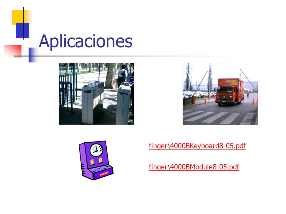 Aplicaciones finger\4000BKeyboard8-05.pdf finger\4000BModule8-05.pdf