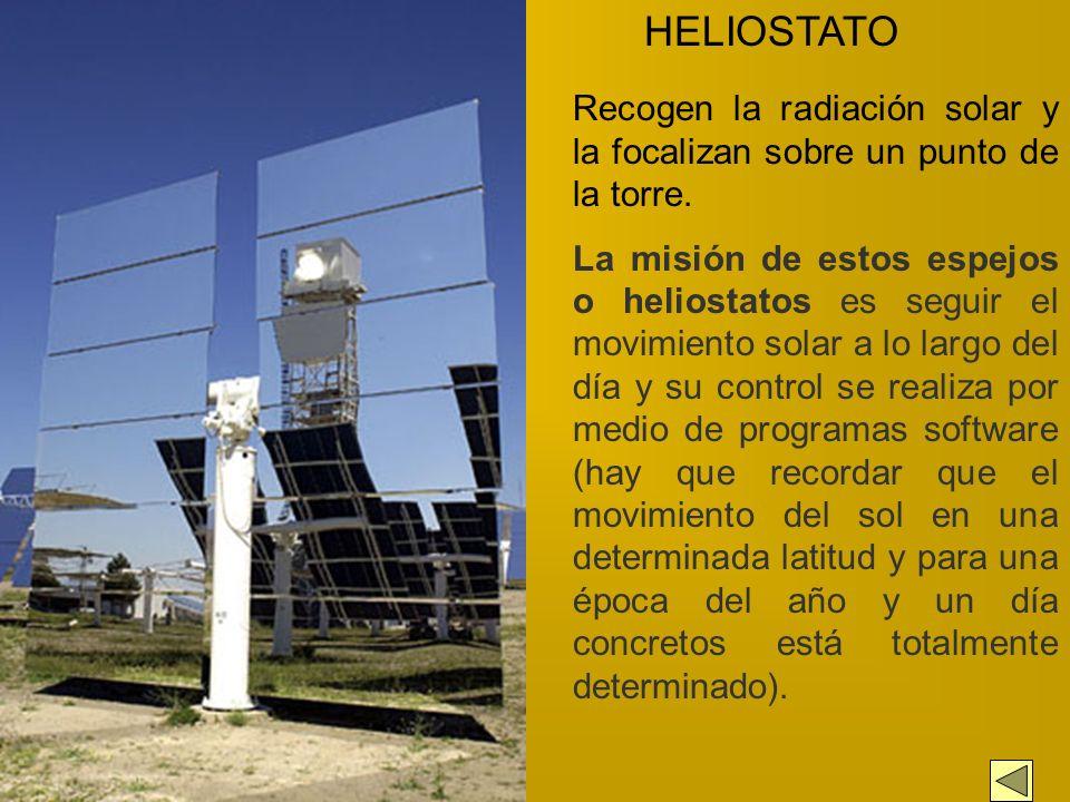 PLATAFORMA SOLAR DE ALMERIA. HELIOSTATO S RECEPTOR SOLAR