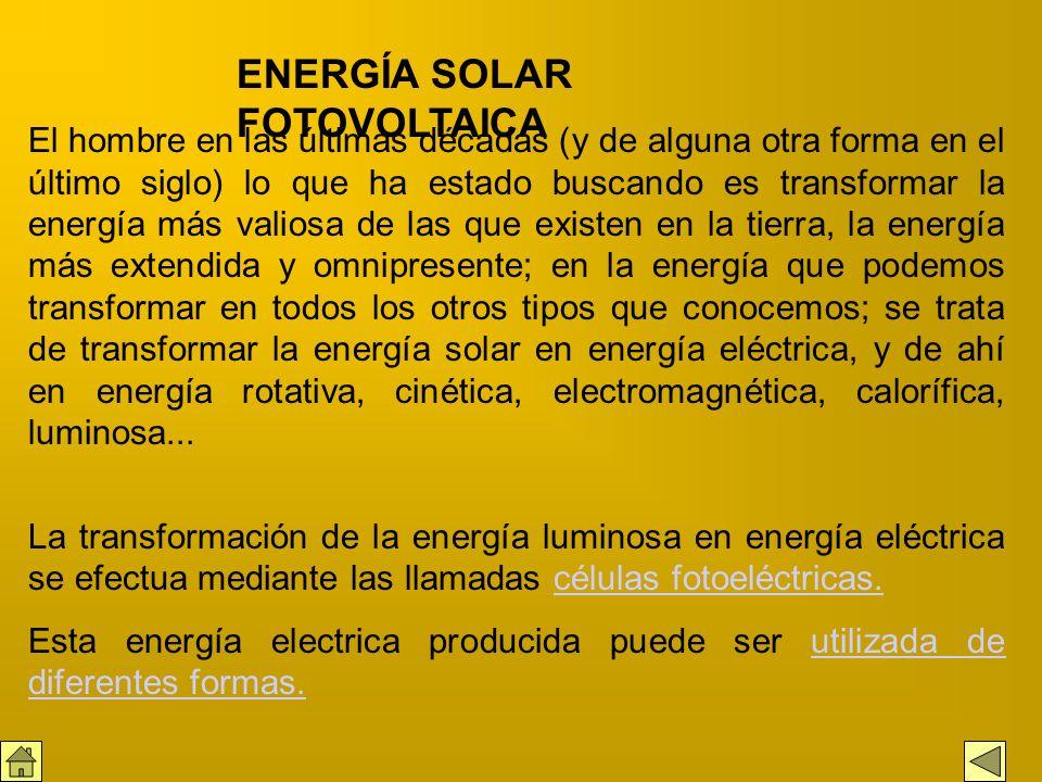 La intensidad de energía solar disponible en un punto determinado de la Tierra depende, de forma complicada pero predecible, del día del año, de la ho