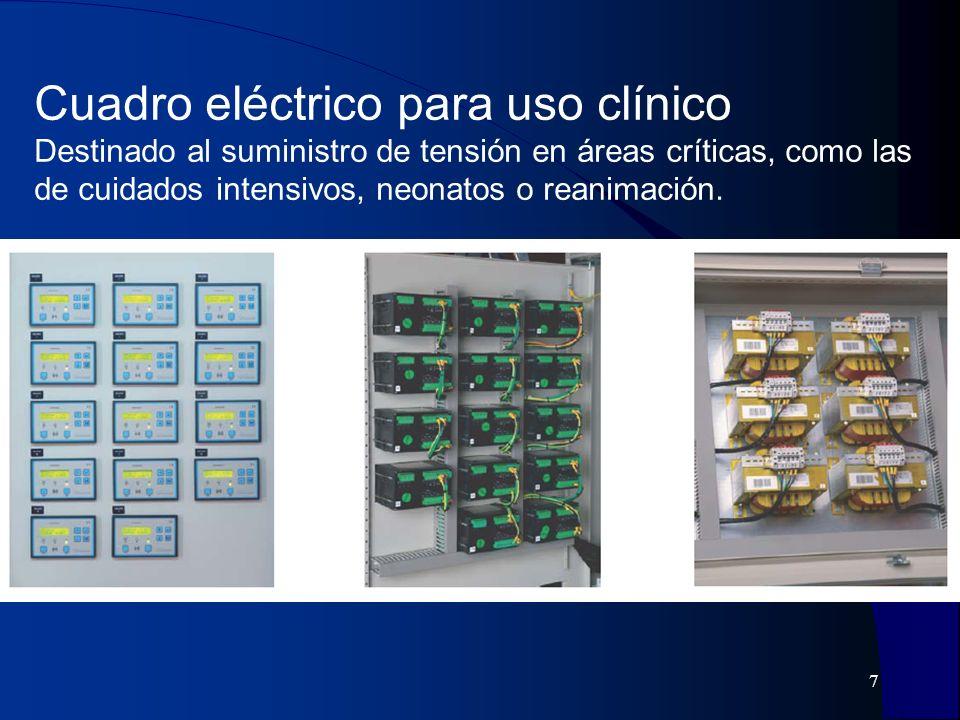 8 Monitor detector de aislamiento