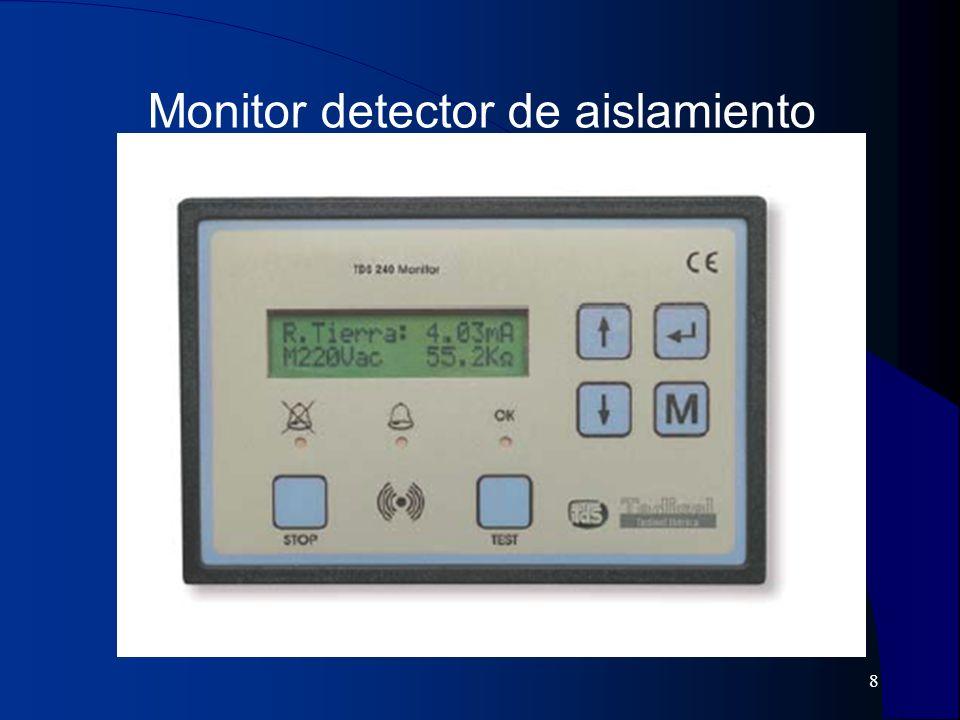 9 Multirrepetidor de alarmas eléctricas