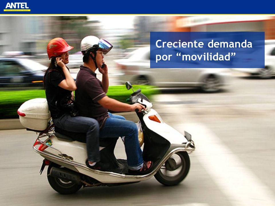 Creciente demanda por movilidad