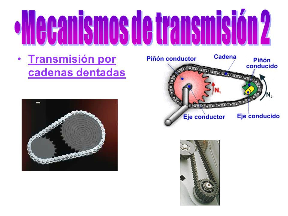 Transmisión por cadenas dentadas