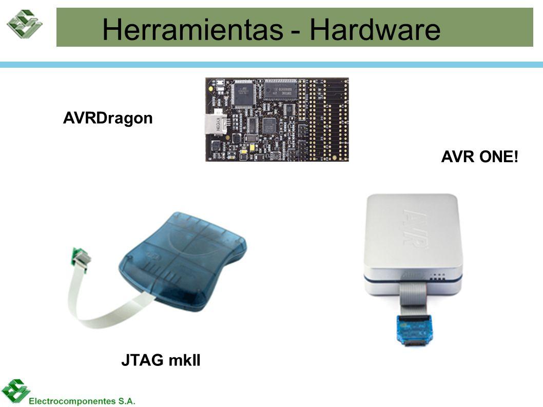 Herramientas - Hardware AVRDragon JTAG mkII AVR ONE!